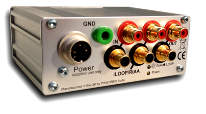 non-equalising phono preamp